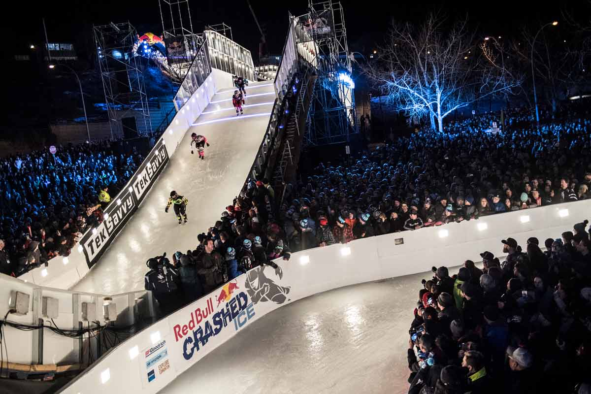 Red Bull Crashed Ice 2018