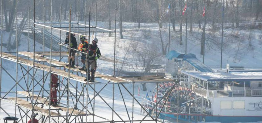 Extreme scaffolding