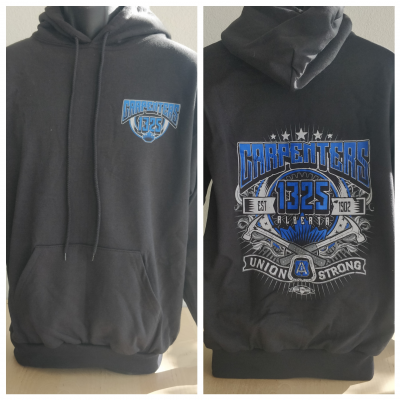 Regular Hoodie (blue pullover), (S, M, L, XL, 2XL, 3XL), $40